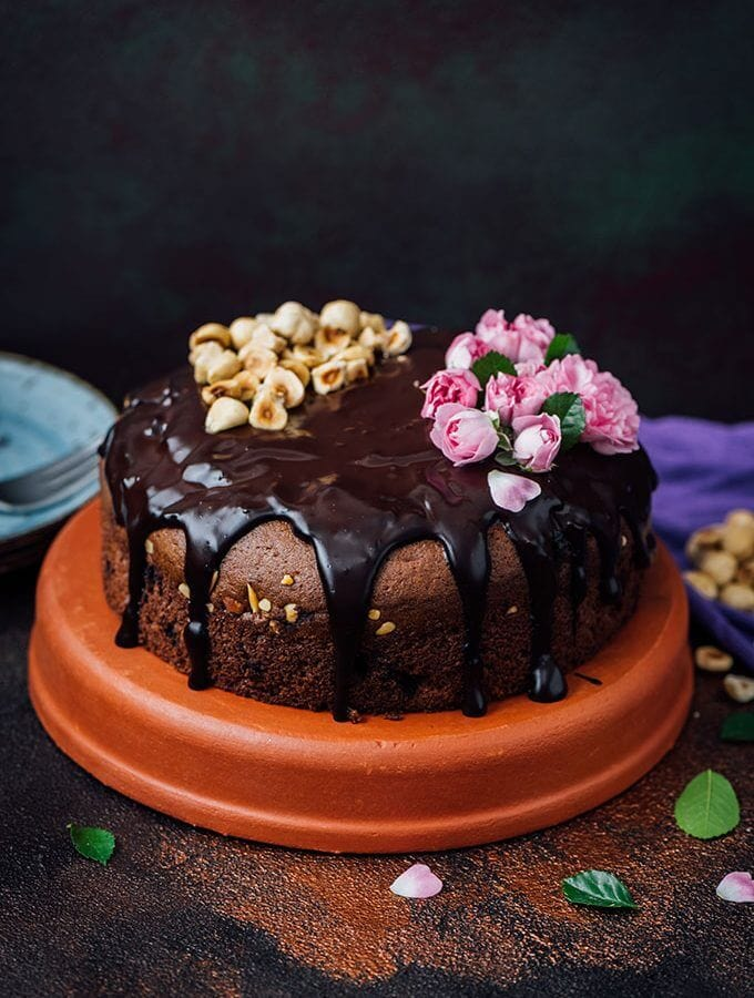 Hazelnut Triple Chocolate Cake is the ultimate cake that you can make for the most special days. So chocolatey and moist yet surprisingly easy to make.