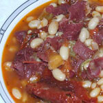 Haricot Beans with Pastirma Recipe thumbnail