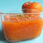 Kaki (Persimmon) Puree, The Saver