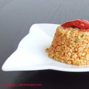 Drinking House Pilaf Recipe