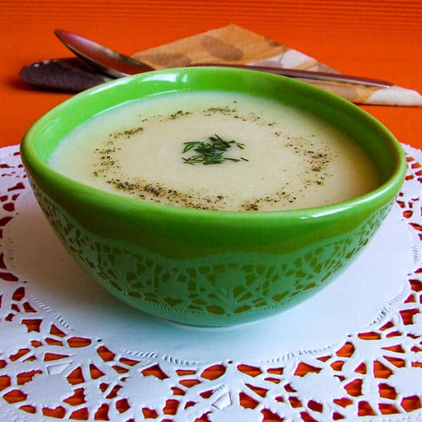 Cream of Potato Soup warms your heart perfectly. Simple yet flavourful and comforting. Your family will ask for this whenever they feel cold.