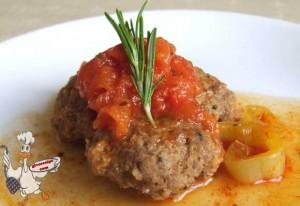 Meatballs with Tomato Paste