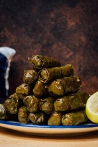 Meatless Stuffed Grape Leaves
