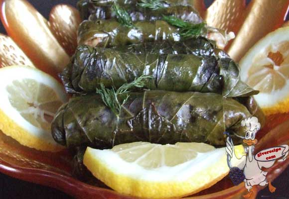 Stuffed Grapevine Leaves