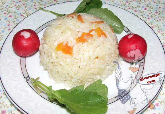 Rice with Carrot