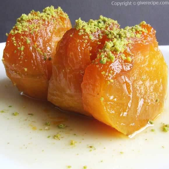 3 Ingredient Turkish Pumpkin Dessert