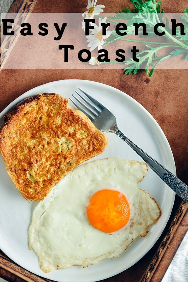 This Easy French Toast recipe with a spicy twist makes your mornings worth waking up to. It is crispy on the outside and soft on the inside. Perfect with both savory and sweet toppings but I love it as it is.