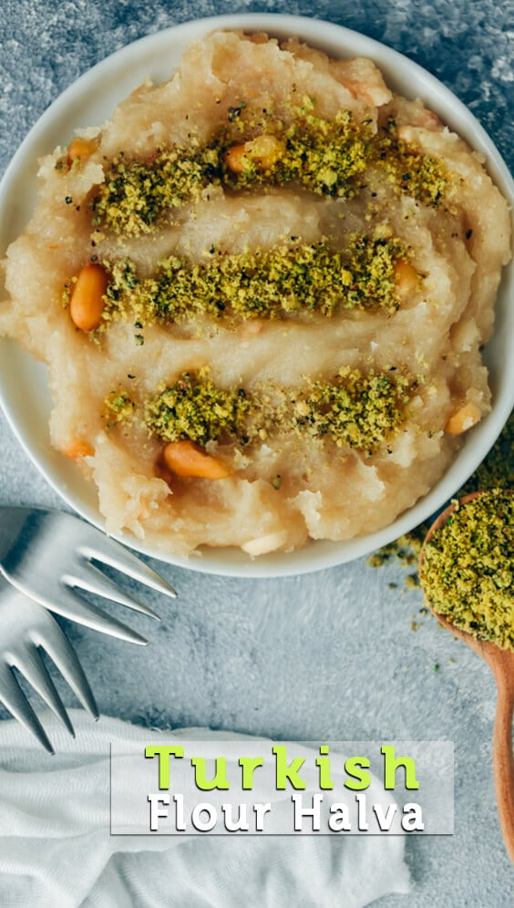 Don't you have any fancy ingredients in your pantry but you are craving for something sweet so badly? Give this simple Turkish Halva Recipe a try. You only need 6 ingredients and a little time for this thick and creamy dessert.