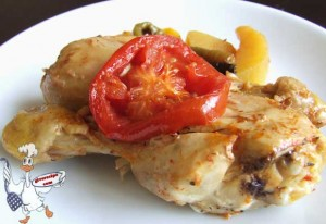 Chicken with Potato | giverecipe.com
