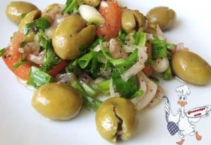 Green Olive Salad For Breakfast