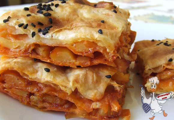 Borek with Potato | giverecipe.com