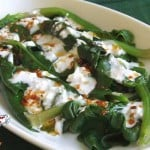 Spinach with Yogurt | giverecipe.com