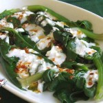 Spinach with Yogurt