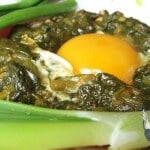 Spinach with Egg