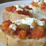 Open Sandwich with Tomato thumbnail