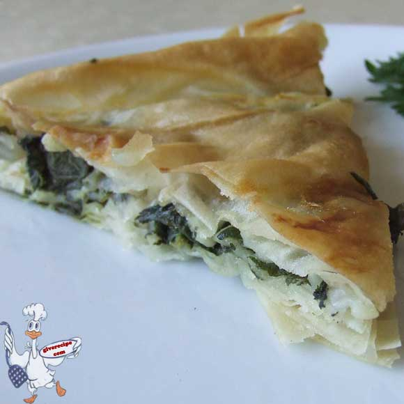 Borek with Stinging Nettle Herb