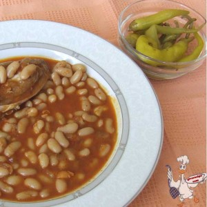 Beans with Meat | giverecipe.com