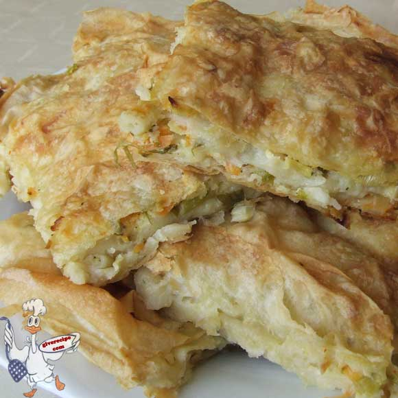 Borek with Vegetables