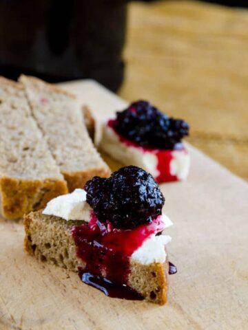 blackmulberry jam | #jam #mulberry #blackmulberry #breakfast #sweet | giverecipe.com