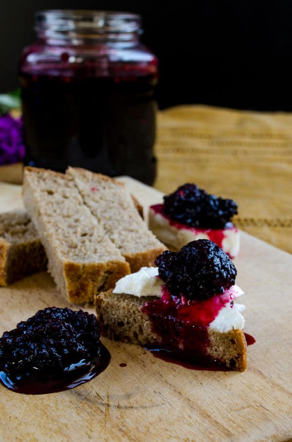 blackmulberry jam | #jam #mulberry #blackmulberry #breakfast #sweet | giverecipe.com