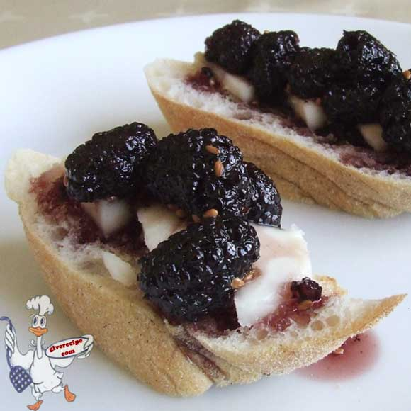 Black Mulberry Jam | giverecipe.com