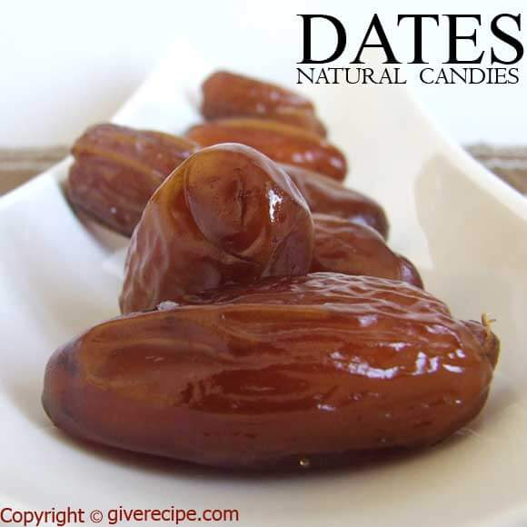 Dates | giverecipe.com