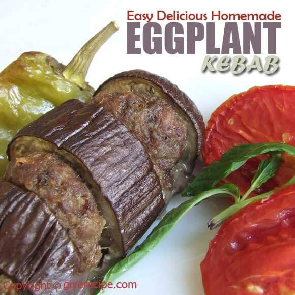 Eggplant Kebab | giverecipe.com