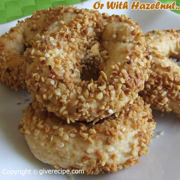 Sesame Rings | giverecipe.com