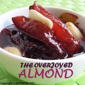 Damson Jam With Almond