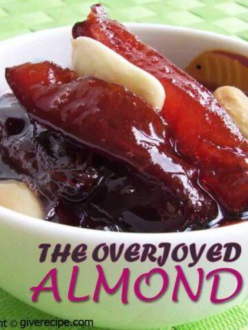 Damson Jam With Almond | giverecipe.com