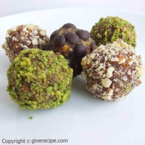 Vegan Date Truffles for Eid