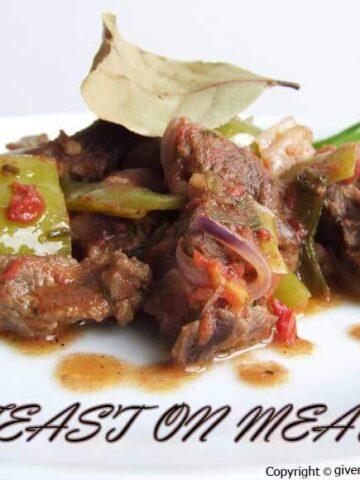 Sauteed Meat | giverecipe.com