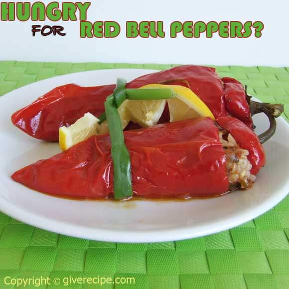 Stuffed Red Peppers Ramadan 4