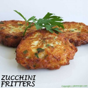 Zucchini Fritters | giverecipe.com