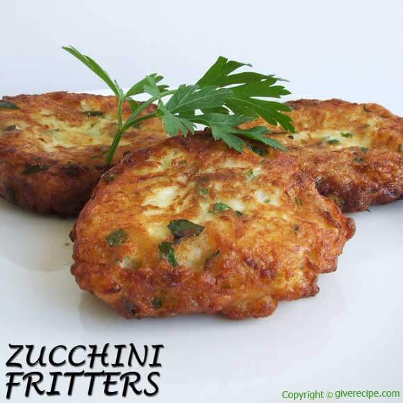 Fritters of deliciousness...you can't go wrong.