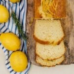 This Kefir Lemon Bread is bursting with lemony flavor and kefir makes it wonderfully moist and light.