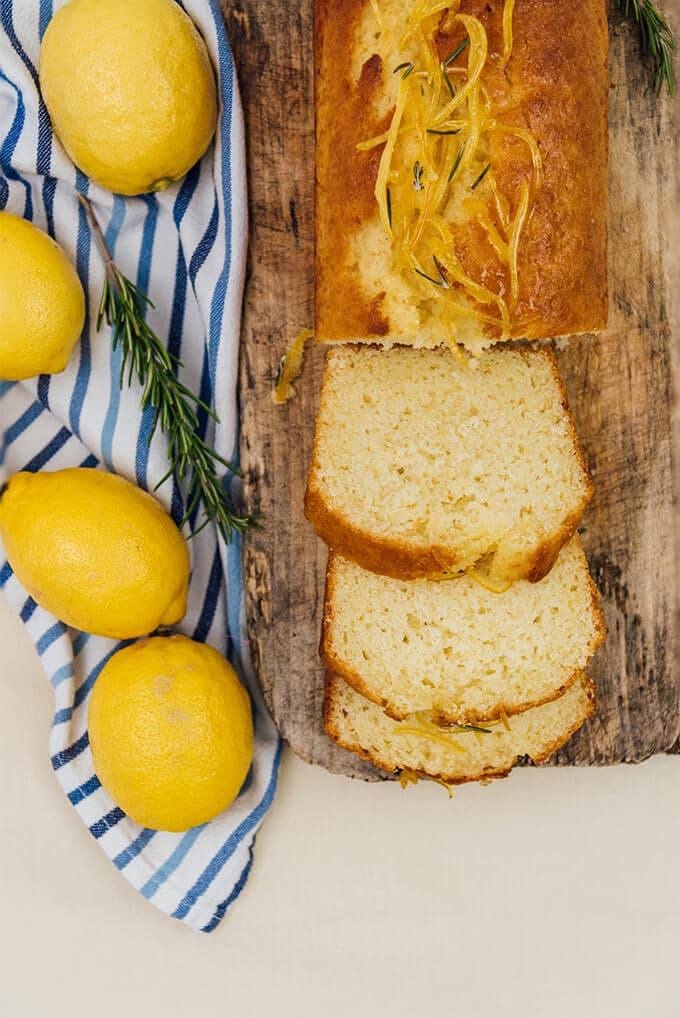 This Kefir Lemon Bread is bursting with lemony flavor and kefir makes it wonderfully moist and light.