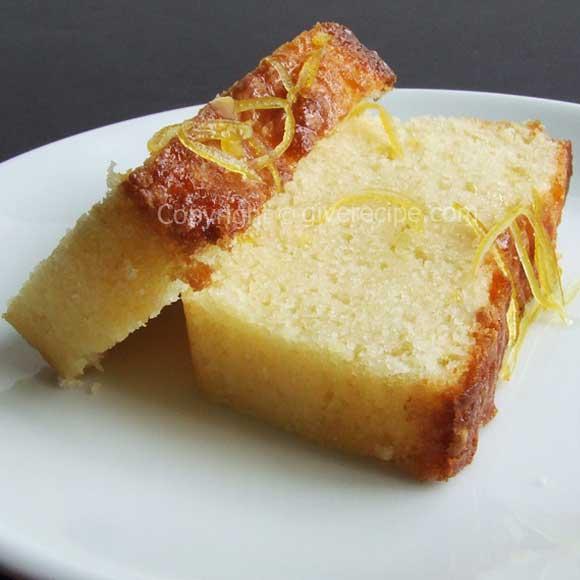 Lemon Cake For Blogoversary
