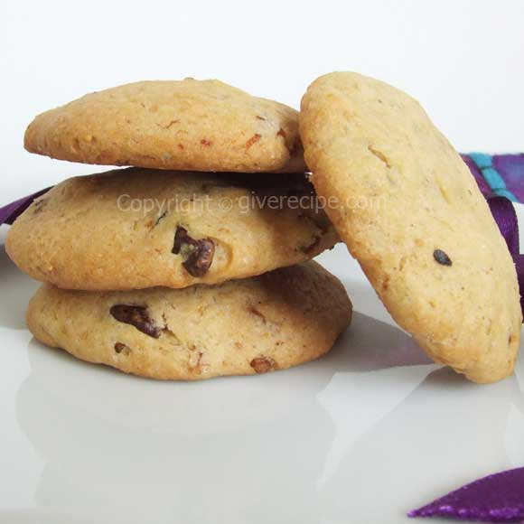 Fig and Walnut Cookies | giverecipe.com