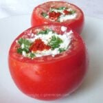 Stuffed Tomatoes| giverecipe.com