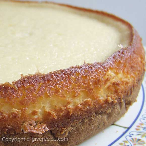 Basic Cheesecake | giverecipe.com