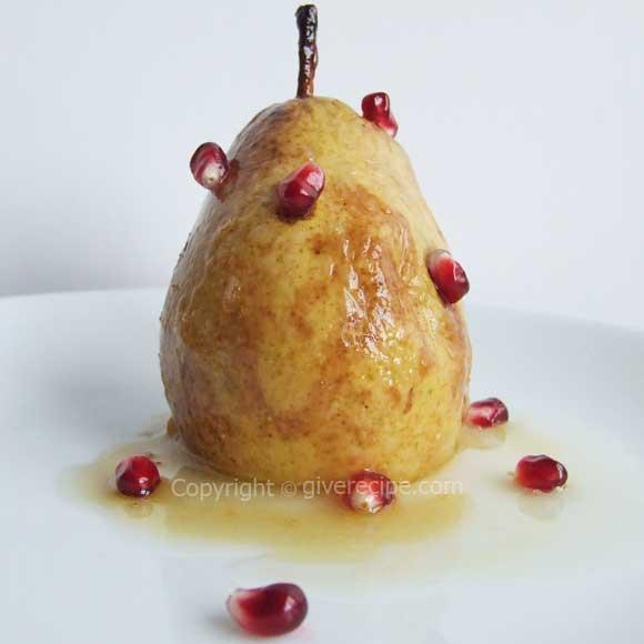 Baked Pears| giverecipe.com