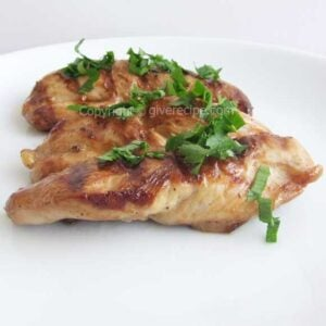 Chicken Fillets On Cast Iron | giverecipe.com