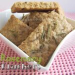 Rosemary Crackers | giverecipe.com