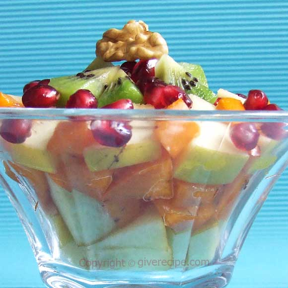 Fresh Fruit Salad | giverecipe.com