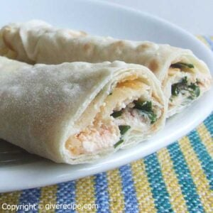 Wrap And Roll Sandwiches | giverecipe.com