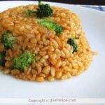 Bulgur Pilaf With Broccoli | giverecipe.com