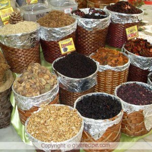 Target Market of Turkish Dried Fruit | giverecipe.com