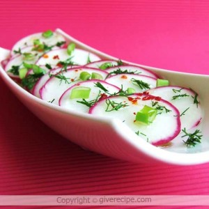 Radish Salad | giverecipe.com