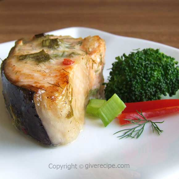 Easy Herbed Salmon | giverecipe.com
